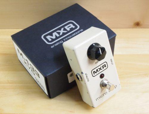東京都のお客様よりMXR M-133 Micro Ampを買取させていただきました。