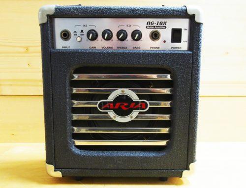 平塚市のお客様より中古ギターアンプ「ARIA AG-10X」を買取させていただきました。