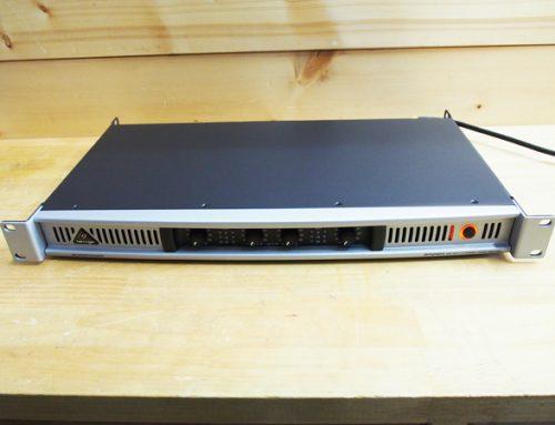 平塚市のお客様よりパワーアンプ、「BEHRINGER EPQ304」を買取させていただきました。