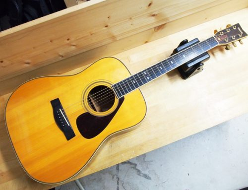 茅ヶ崎市のお客様よりアコースティックギター、「YAMAHA L-6 1977年製 前期型」を買取させていただきました。