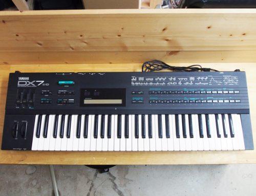 茅ヶ崎市のお客様より、シンセサイザー「YAMAHA DX7 IID 」を買取させて頂きました。