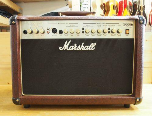 茅ヶ崎市のお客様より中古アコースティックアンプ「Marshall AC50R」を買取させて頂きました。