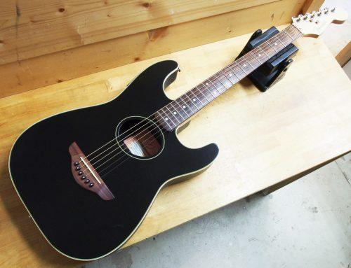 小田原市のお客様より中古エレアコ「Fender Stratacoustic 」を買取させて頂きました。