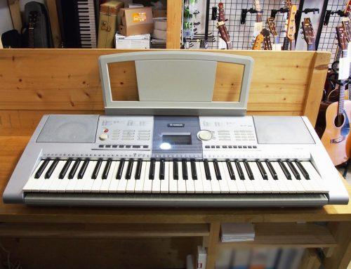 秦野市のお客様より中古キーボード「YAMAHA PORTATONE PSR-295」を買取させて頂きました。