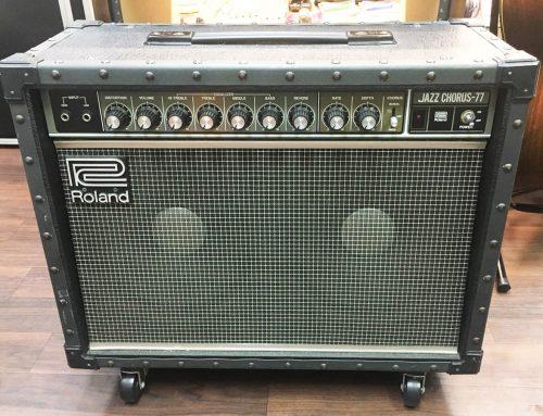 東京都葛飾区のお客様より中古アンプ、Roland JC-77を買取させていただきました。