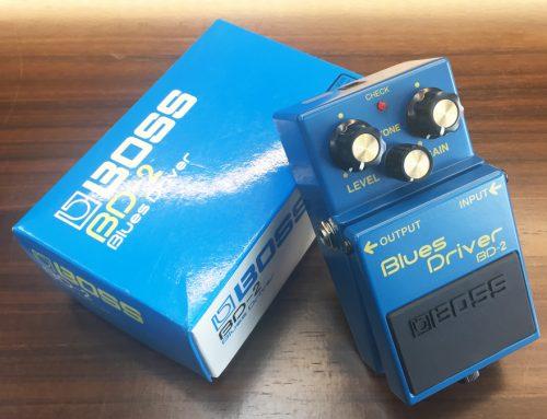 東京都墨田区のお客様より中古エフェクター「BOSS BD-2 Blues Driver」を買取させていただきました。