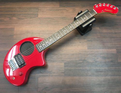 東京都墨田区のお客様より中古ギター「FERNANDES ZO-3 RED」を買取させていただきました。