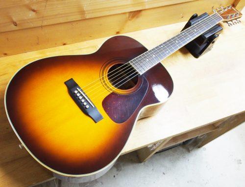 秦野市のお客様より中古アコースティックギター「Morris MF207TS」を買取させて頂きました。