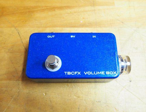 東京都狛江市のお客様より中古エフェクター「TBCFX Volume Box」を買取させていただきました。