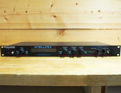 茅ヶ崎市のお客様より中古ラックタイプマルチエフェクター「Rocktron INTELLIFEX」を買取させて頂きました。