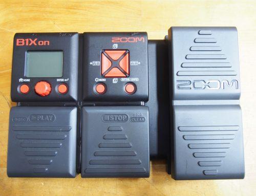 茅ヶ崎市のお客様より中古マルチエフェクター「ZOOM B1Xon 」を買取させていただきました。