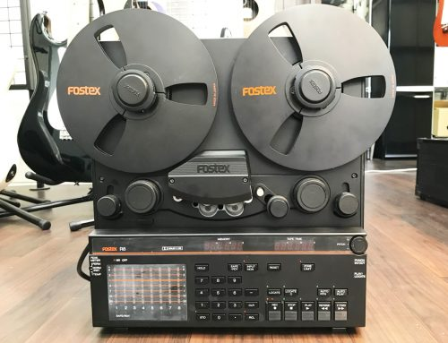 東京都葛飾区のお客様より中古テープリールレコーダー「Fostex R8」を買取させていただきました。