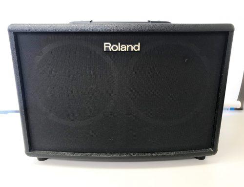 東京都墨田区のお客様より中古アンプ「Roland AC-60」を買取させていただきました。