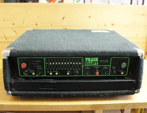 藤沢市のお客様より中古ベースアンプヘッド「Trace Elliot GP12SMX AH600SMX 」を買取させて頂きました。