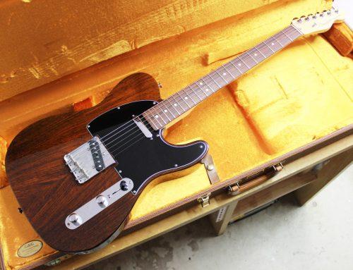 茅ヶ崎市のお客様より中古エレキギター「Fender USA Tele-Bration Lite Rosewood Telecaster 60周年記念モデル」を買取させて頂きました。
