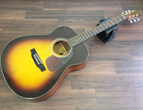 東京都千代田区のお客様より中古アコースティックギター「Morris MF-255ST」を買取させていただきました。