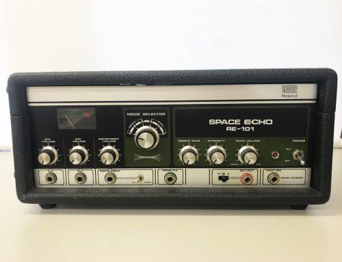 東京都墨田区のお客様より中古テープエコー「Roland RE-101」を買取させていただきました。
