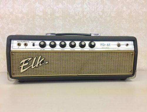 東京都荒川区のお客様より中古アンプヘッド「ELK FD-61」を買取させて頂きました。