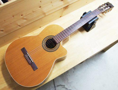 茅ヶ崎市のお客様より、エレキクラシックギター「La Patrie Concert CW Quantum」を買取させて頂きました。