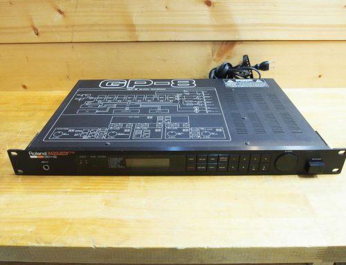 鎌倉市のお客様より中古マルチエフェクター、フットコントローラ「Roland GP-8+Roland FC-100」を買取させていただきました。
