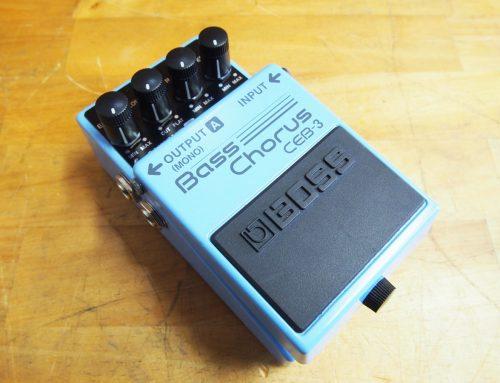 茅ヶ崎市のお客様より中古ベースコーラス「BOSS CEB-3」を買取させて頂きました。
