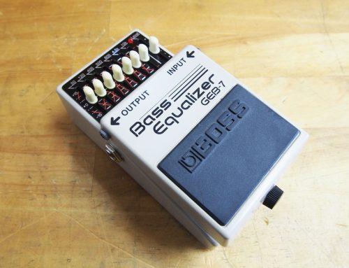 茅ヶ崎市のお客様より中古ベースイコライザー「BOSS GEB-7」を買取させて頂きました。