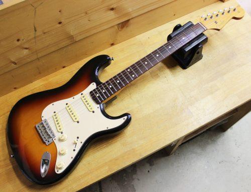 横浜市のお客様より中古エレキギター「Fender Japan ST62 Stratocaster」を買取させて頂きました。