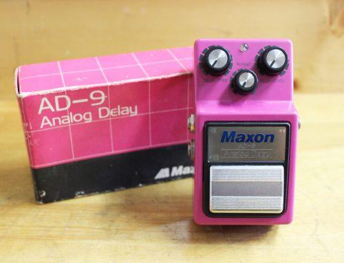 茅ヶ崎市のお客様より中古エフェクター「MAXON AD-9 アナログディレイ」を買取させて頂きました。