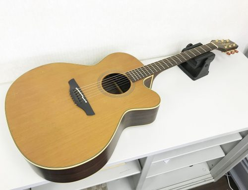 東京都江戸川区のお客様より中古アコースティックギター「Takamine NPT-010」を買取させていただきました。