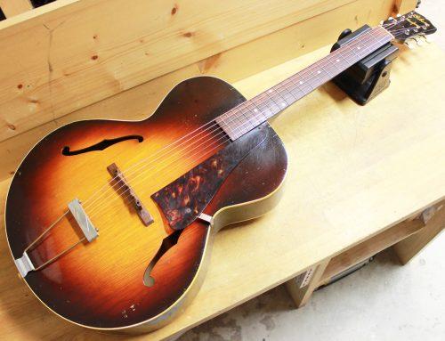 【中古アーチトップギター買取・大磯町】Gibson L-50 バナーロゴ 1940年代製