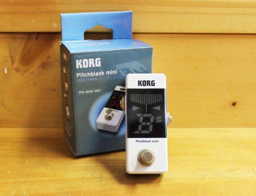 【中古エフェクター買取・寒川町】KORG PB-Mini Pitchblack-Mini White ペダルチューナー