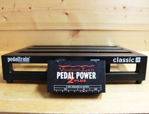 【中古エフェクターボード買取・横浜市】Pedaltrain Classic Jr. (Voodoo Lab Pedal Power 2 Plus付属)
