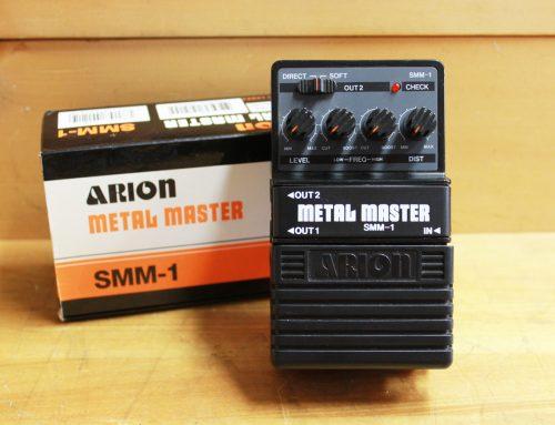 【中古エフェクター買取・横浜市】ARION SMM-1 Metal Master ディストーション
