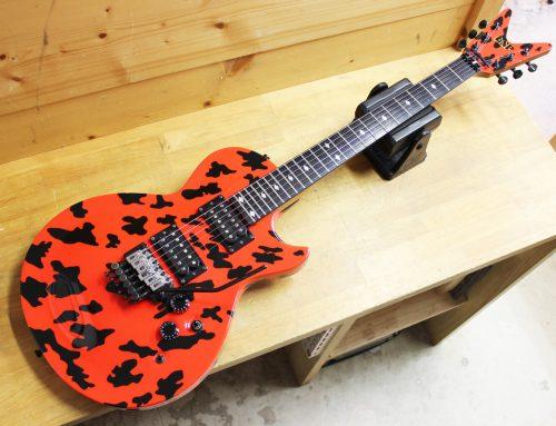 【中古エレキギター買取・平塚市】ESP カスタムオーダー品 レスポールシェイプ フロイド搭載