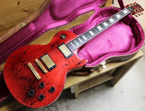 【中古エレキギター買取・鎌倉市】Gibson Custom Shop Les Paul Custom Metallic Red Swirl