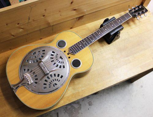【中古アコースティックギター買取・鎌倉市】Blanton BR-1N リゾネーターギター