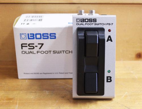 【中古エフェクター買取・滋賀県】BOSS FS-7 フットスイッチ