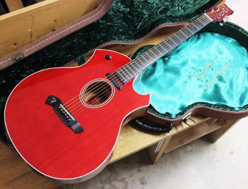 【中古アコースティックギター買取・横浜市】Parker Event Series P6E TR エレアコ