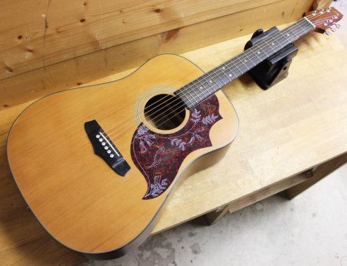 【中古アコースティックギター買取・鎌倉市】Aria AW110 エレアコ化 FISHMAN Presys Blend搭載