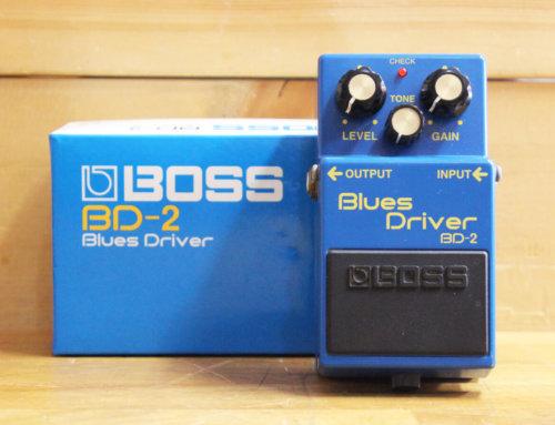 【中古エフェクター買取・平塚市】BOSS BD-2 Blues Driver オーバードライブ